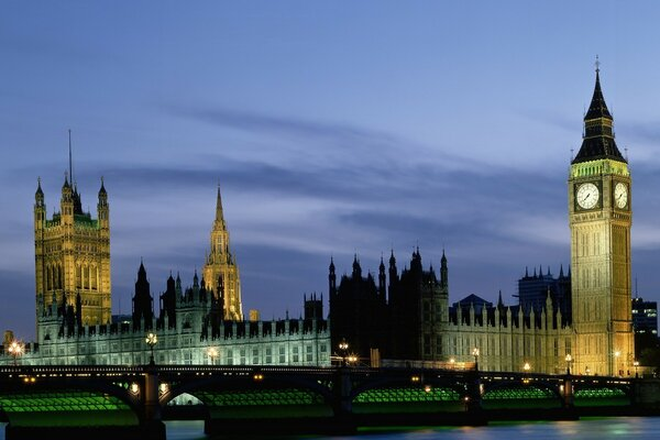 Houses Of Parliament And Big Ben, London, UK, Europe