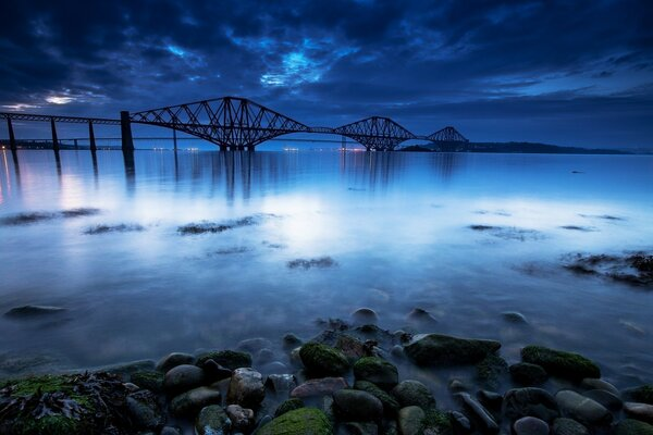 Scotland The Forth Bridge Landscape