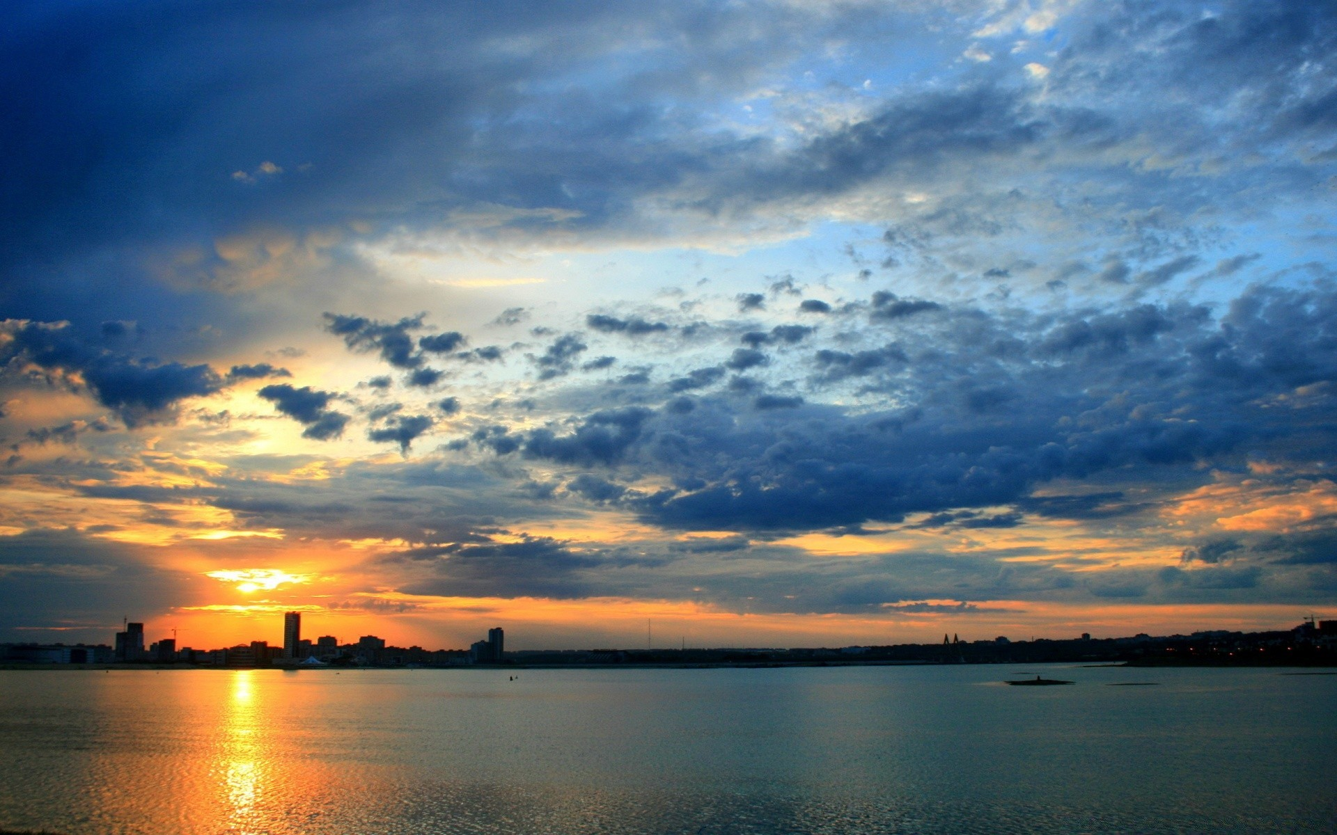 Kazan City Sunrise Hdr Android Wallpapers