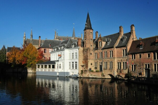 Bruges And It s Canals