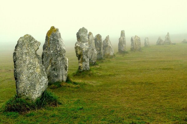 Megalithic Stones Of Lagatjar, France