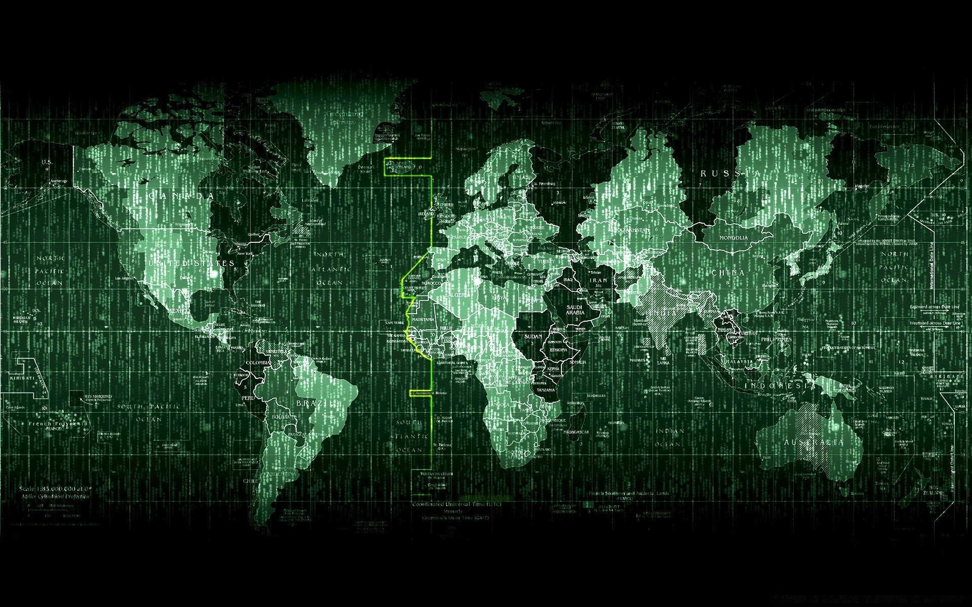 Matrix World Map IPhone Wallpapers For Free - World map iphone 6 wallpaper