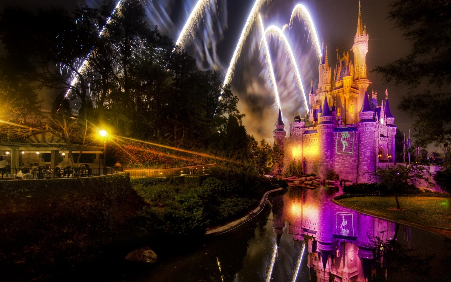 Magical Disney Fireworks Show Android Wallpapers For Free