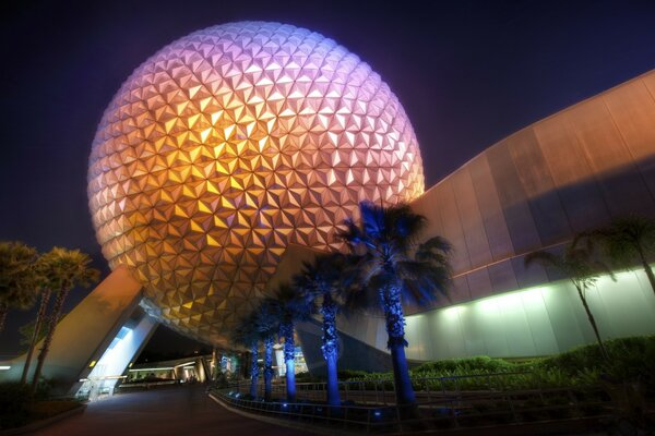 Disney World Sphere